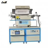 OTL-CVD-1200单温区可调真空CVD双管炉